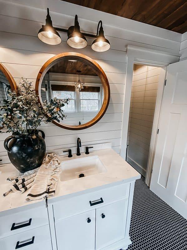 Modern Farmhouse Master Bathroom, Modern Farmhouse Bathroom Remodel Ideas