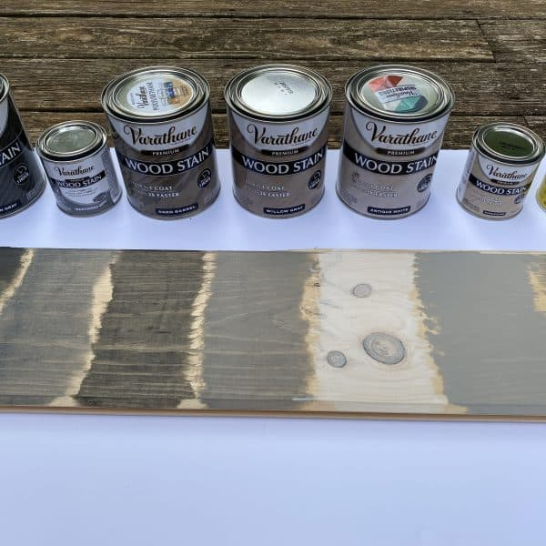 grey wood stain