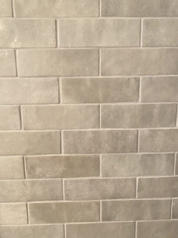 what color grout to use with gray tile