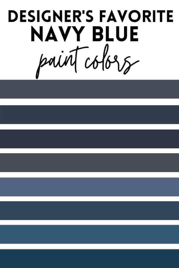 8 beautiful navy blue paint colors