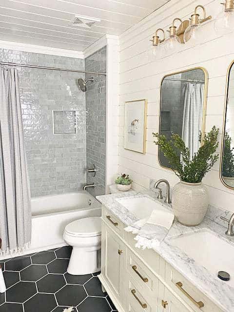 Laundry room bathroom combo renovation