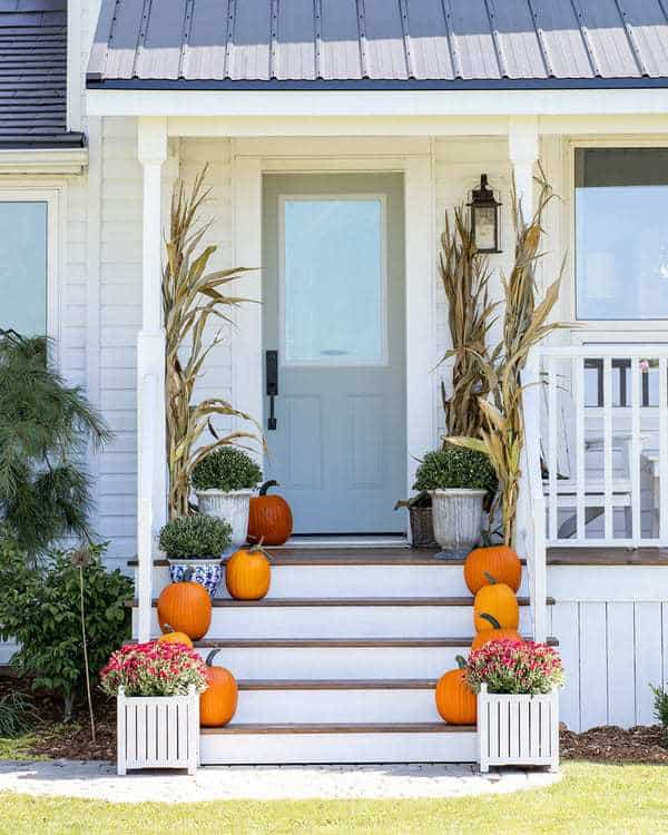 11 gorgeous fall front porch ideas