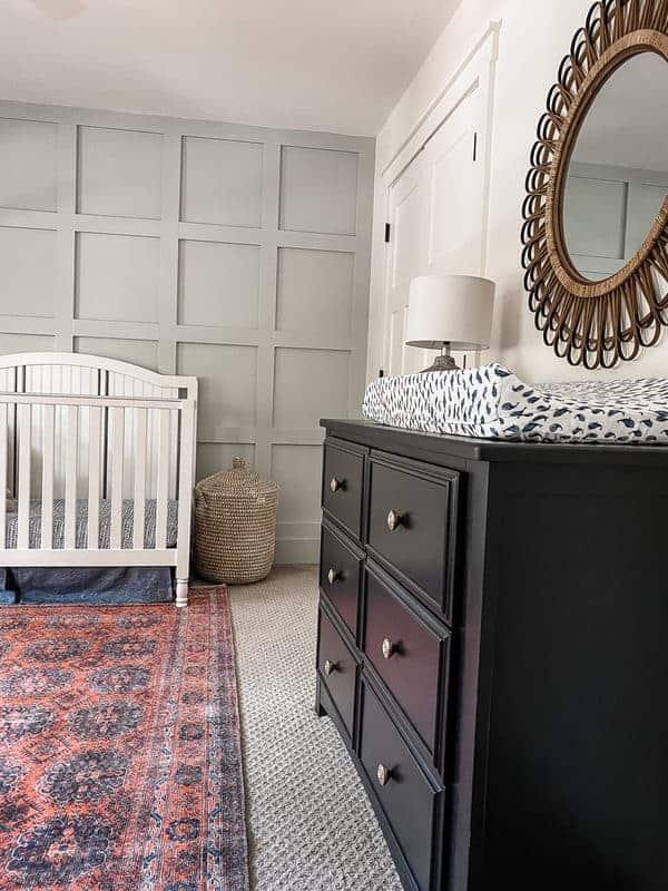 Bold nursery room reveal
