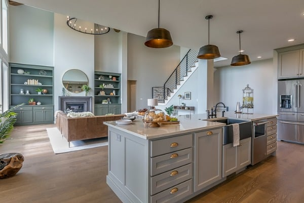 how do you plan a kitchen island