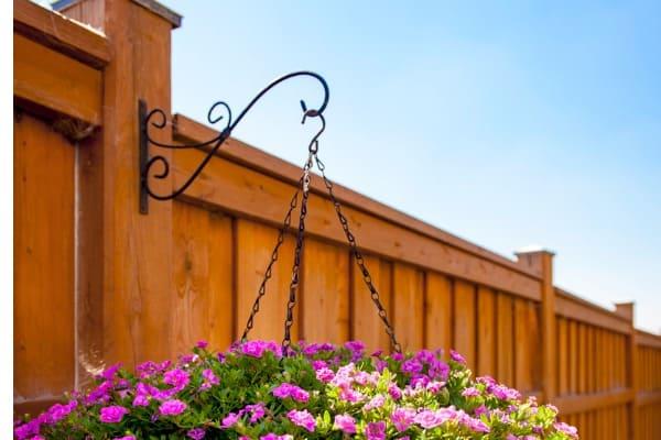 vertical fence ideas